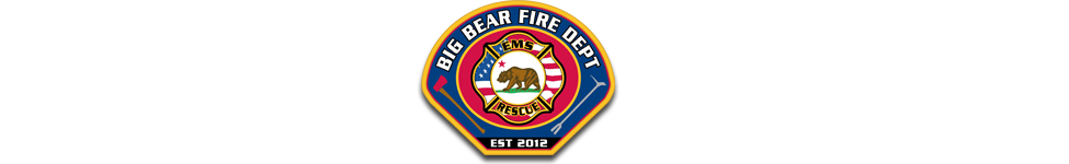 Big Bear Fire Patch