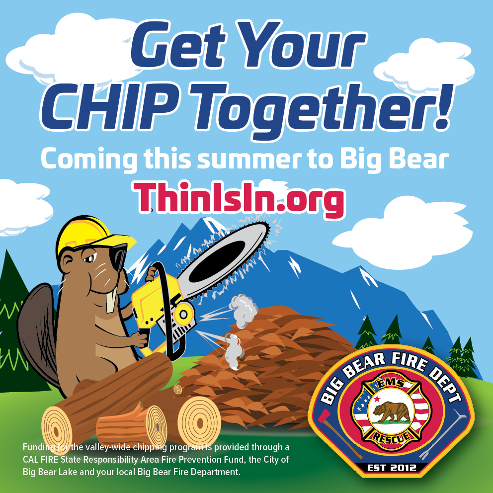 BIG BEAR FIRE Chipper FB Ads